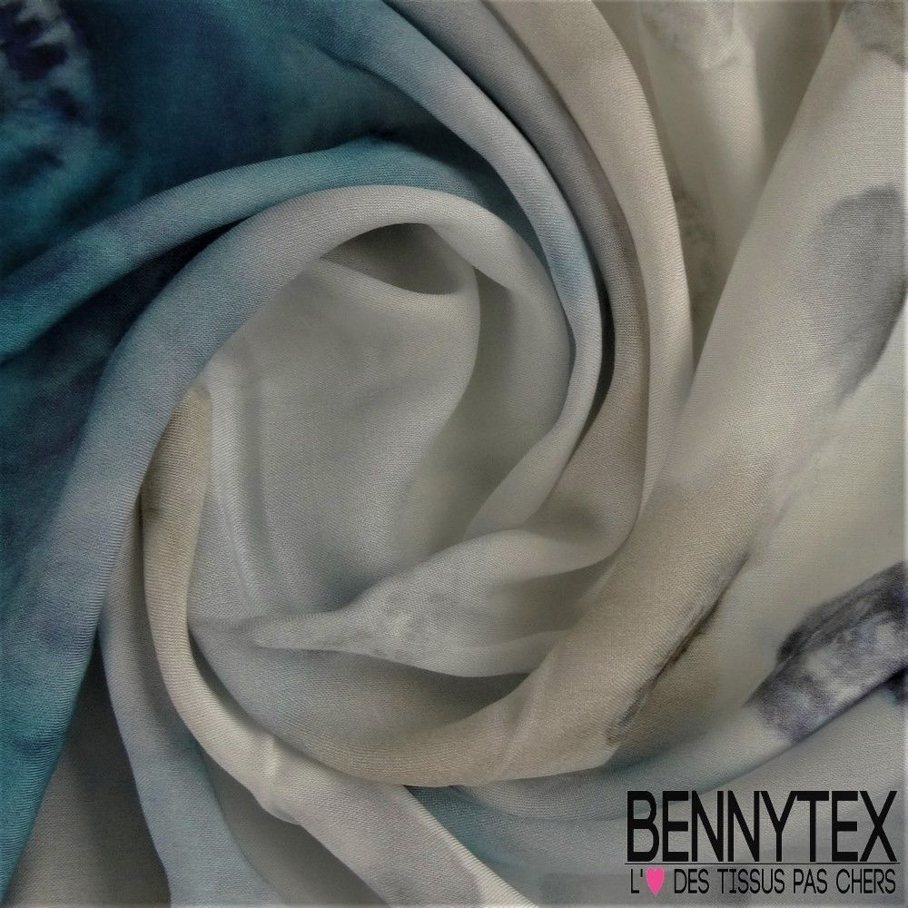 5fa57ba63326 Fibranne Viscose Imprimé Motif Placé Forme Ronde   Bennytex vente de ...