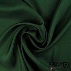 Pongé de Soie (100% Soie) - Vert impérial