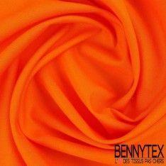 Popeline Coton Premium Gamme ALIX Couleur Orange
