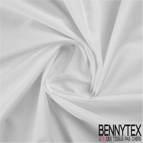 Popeline Coton Premium Gamme ALIX Couleur Blanche