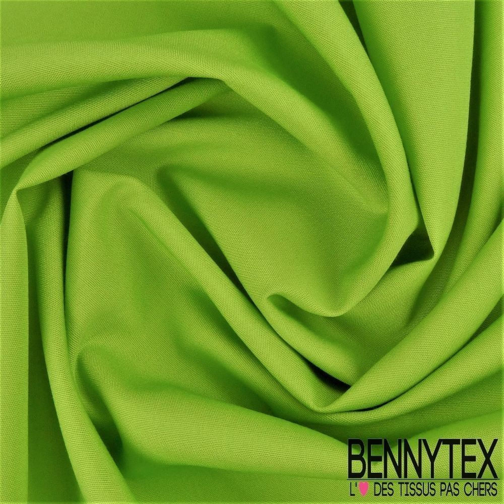 popeline coton premium gamme alix couleur vert anis | bennytex vente