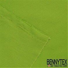 Popeline Coton Premium Gamme ALIX Couleur Vert Anis