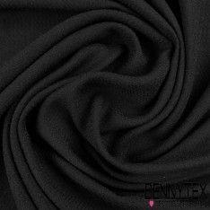 Fibranne Jacquard Viscose Chevron Couleur Noir