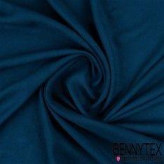 Fibranne Jacquard Viscose Chevron Couleur Bleu Canard
