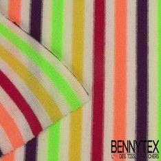 Jersey Coton Marinière Multicolore N°37