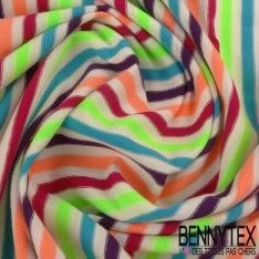 Jersey Coton Marinière Multicolore N°38