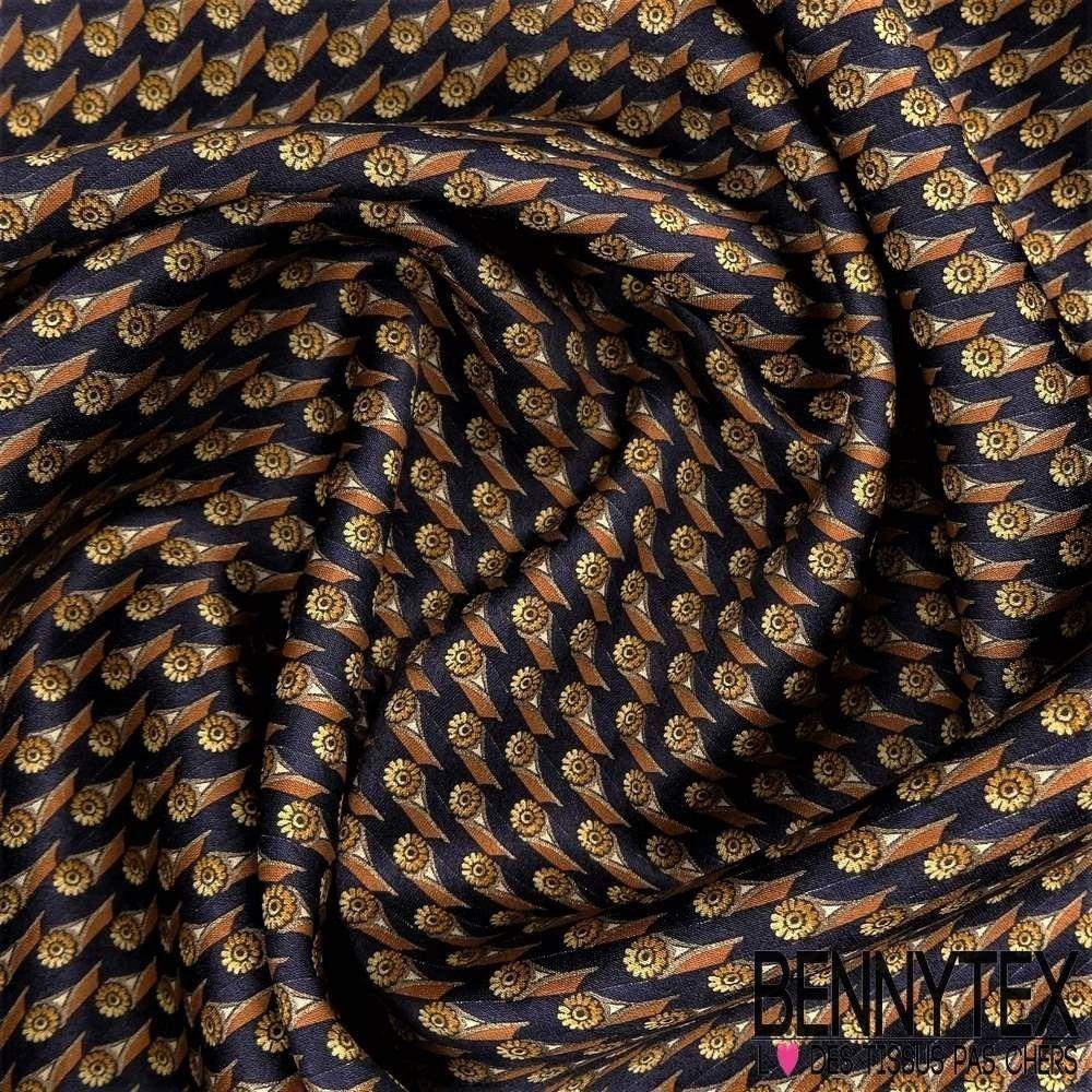 carr de soie satin n 97 motif fleurs bennytex vente de tissus pas cher au m tre. Black Bedroom Furniture Sets. Home Design Ideas