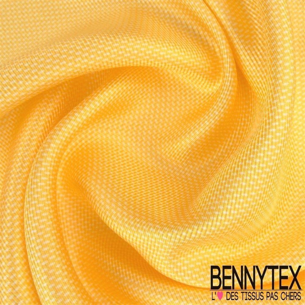 carr de soie twill lourd n 98 jaune bennytex vente de tissus pas cher au m tre. Black Bedroom Furniture Sets. Home Design Ideas