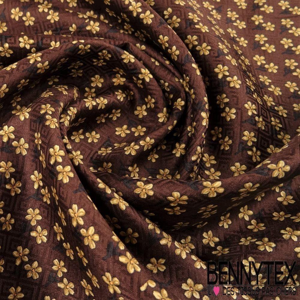carr de soie satin n 101 motif petites fleurs tram bennytex vente de tissus pas cher au m tre. Black Bedroom Furniture Sets. Home Design Ideas