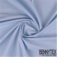 Percale / Drap De Coton Couleur Bleu Ciel