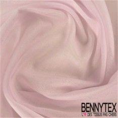 Voile de Coton Couleur Rose Pale