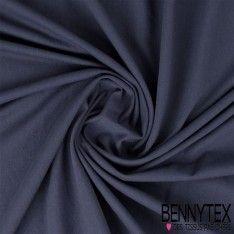 Jersey Coton Couleur Bleu Minéral