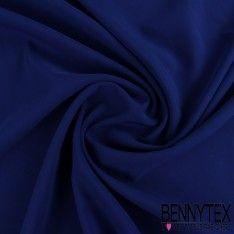 Crêpe Polyester Élasthanne Lourde Couleur Bleu Roi