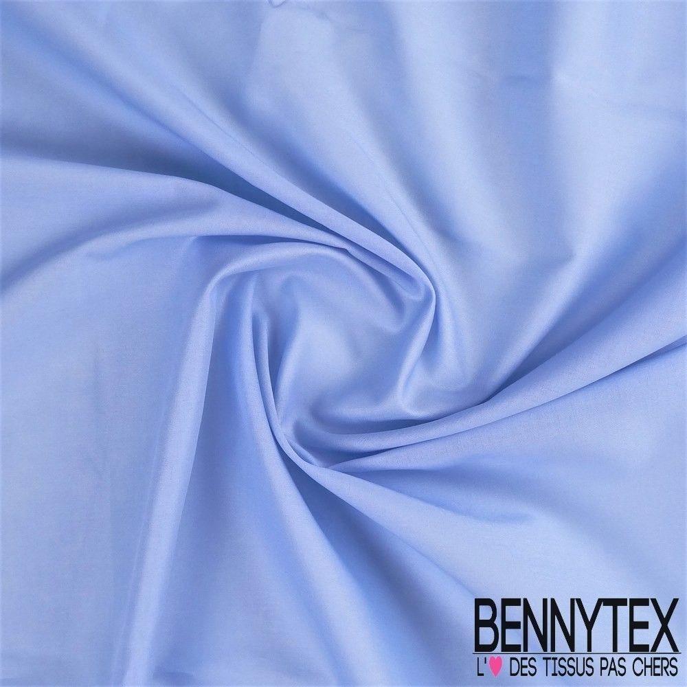 Voile de coton gamme lena couleur bleu ciel bennytex - Voile de forcage au metre ...