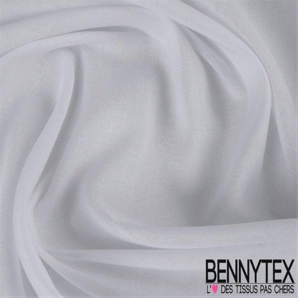 Voile de Coton Gamme LENA Couleur Blanc