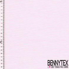 Coton Polyamide Imprimé Rayures Réf : 335