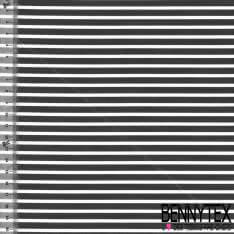 Coton Polyamide Imprimé Rayures Réf : 342
