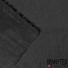 Coupon Taffetas Polyester Couleur Noir