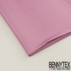 Coupon Taffetas Polyester Couleur Lilas