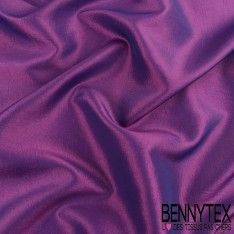 Coupon Taffetas Polyester Couleur Violet