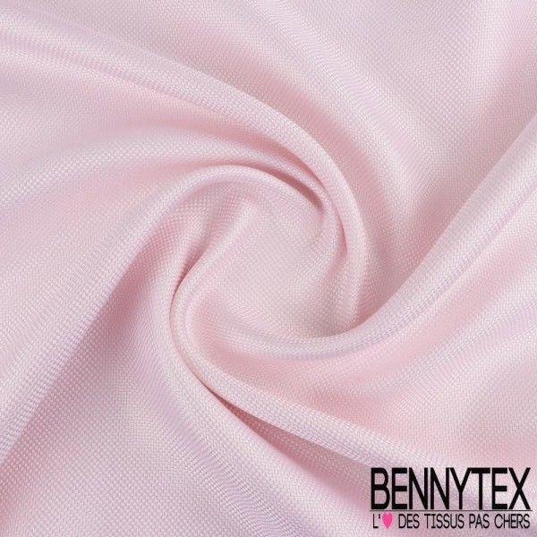 Natté de Soie Effet Carbone Teint Couleur Rose Pale