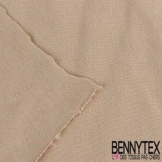 Jersey Coton Gamme NINA Couleur Beige