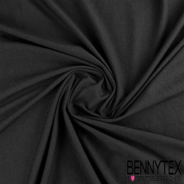 Jersey Coton Gamme NINA Couleur Noir