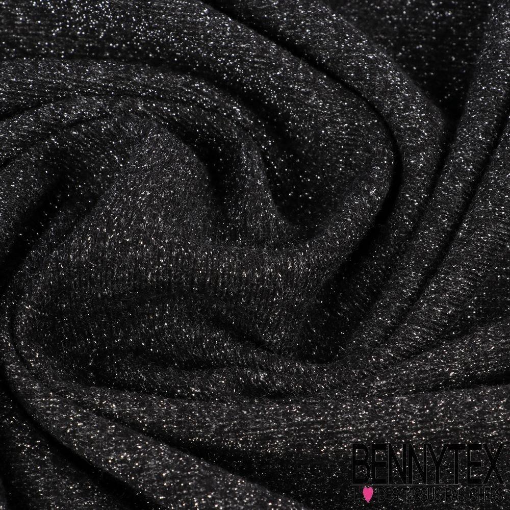 molleton bouclette paillet gamme zoe couleur noir bennytex vente de tissus pas cher au m tre. Black Bedroom Furniture Sets. Home Design Ideas
