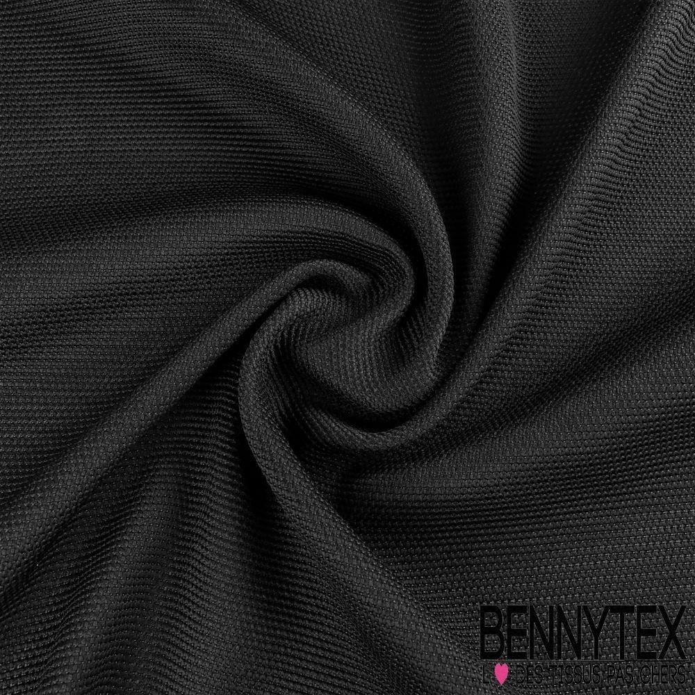 tissu r sille tram aspect ligne granul couleur noir bennytex vente de tissus pas cher au m tre. Black Bedroom Furniture Sets. Home Design Ideas