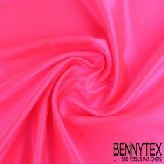 Satin Duchesse Haute Couture Couleur Rose Fushia Fluo