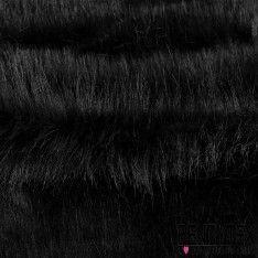 Fausse Fourrure Couleur Noir Degradé de Gris