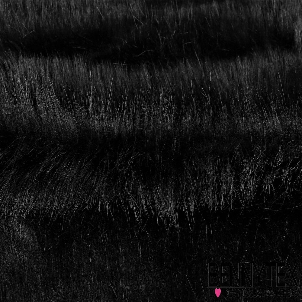 fausse fourrure couleur noir degrad de gris bennytex. Black Bedroom Furniture Sets. Home Design Ideas