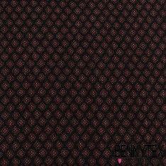 Crêpe Fibranne Viscose Imprime Losange