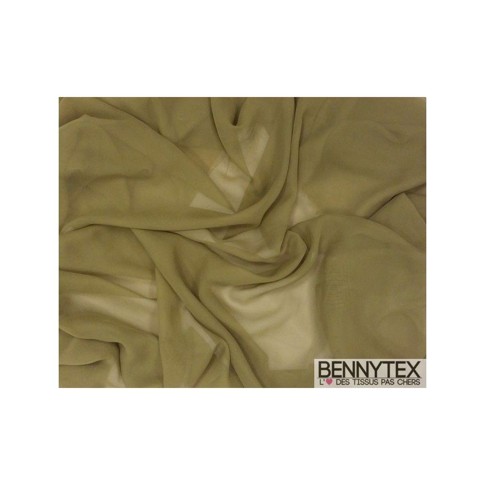 Mousseline polyester vert olive bennytex vente de tissus pas cher au m tre - Mousse polyester au metre ...
