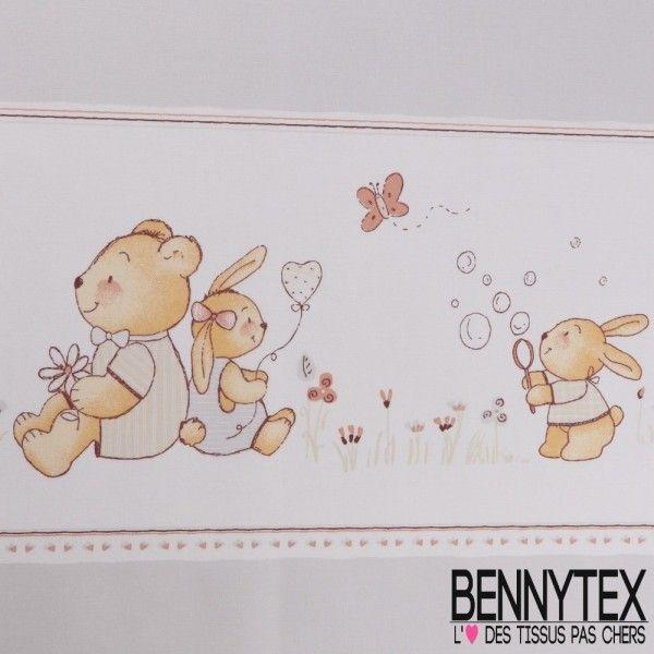 Coton Imprimé Motif Enfant 6