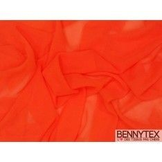 Mousseline Polyester Orange
