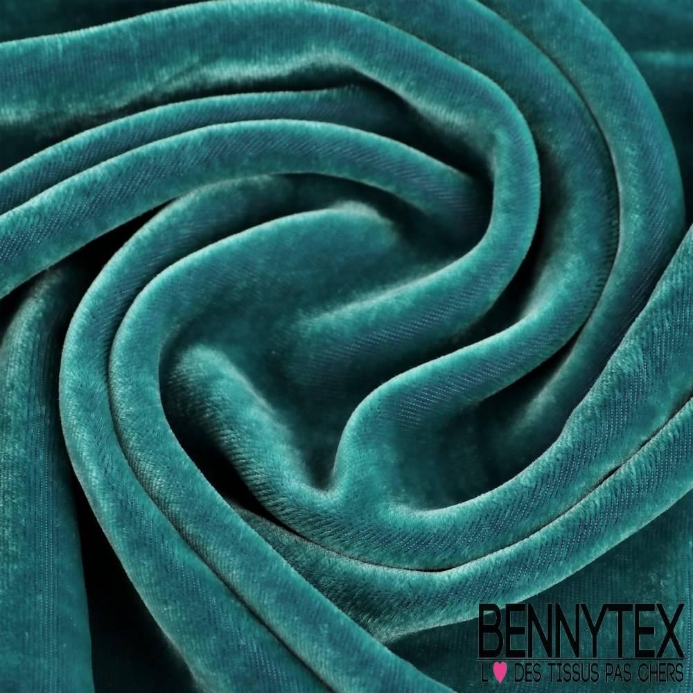 Velours de soie emeraude bennytex vente de tissus pas for Velours de soie ameublement