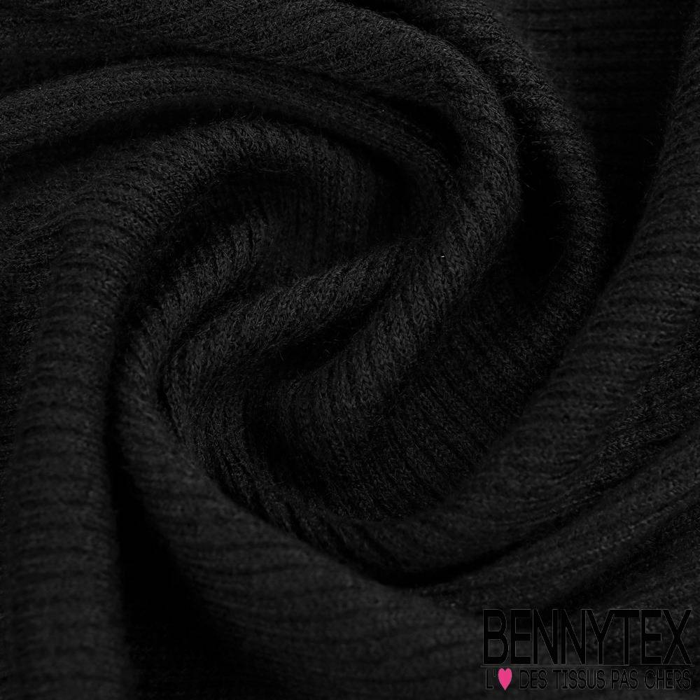 bord cote souple acrylique au m tre couleur noir bennytex vente de tissus pas cher au m tre. Black Bedroom Furniture Sets. Home Design Ideas