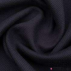 Coton lourd tissé Couleur bleu marine