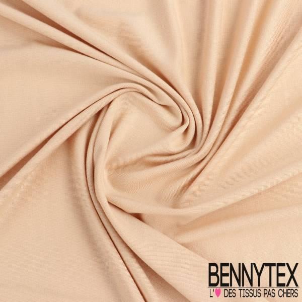 Jersey Viscose modal Uni Couleur beige nude