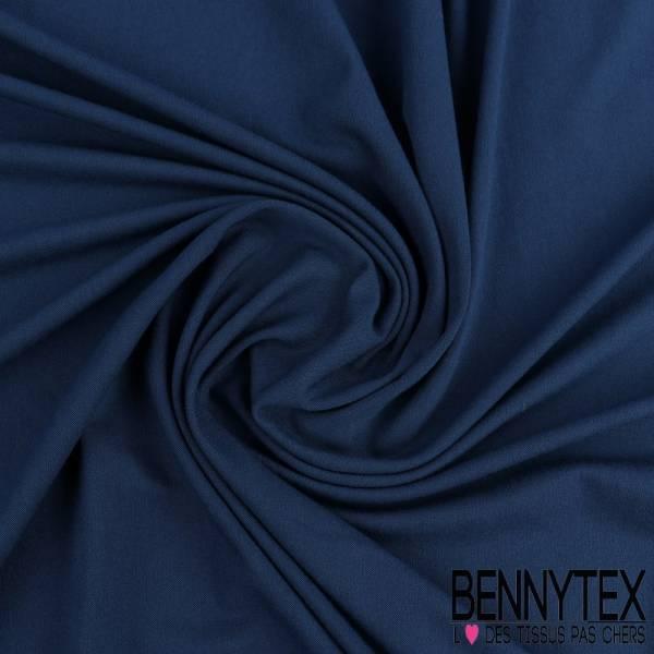 Jersey Viscose Uni bleu de berlin