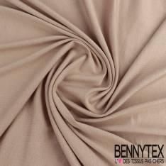 Jersey Viscose Uni couleur beige