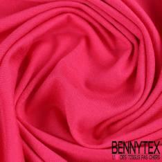 Jersey Viscose Uni couleur fushia