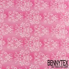 Gabardine Coton Imprimé floral d'époque