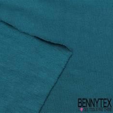 Jersey Viscose Uni couleur bleu canard