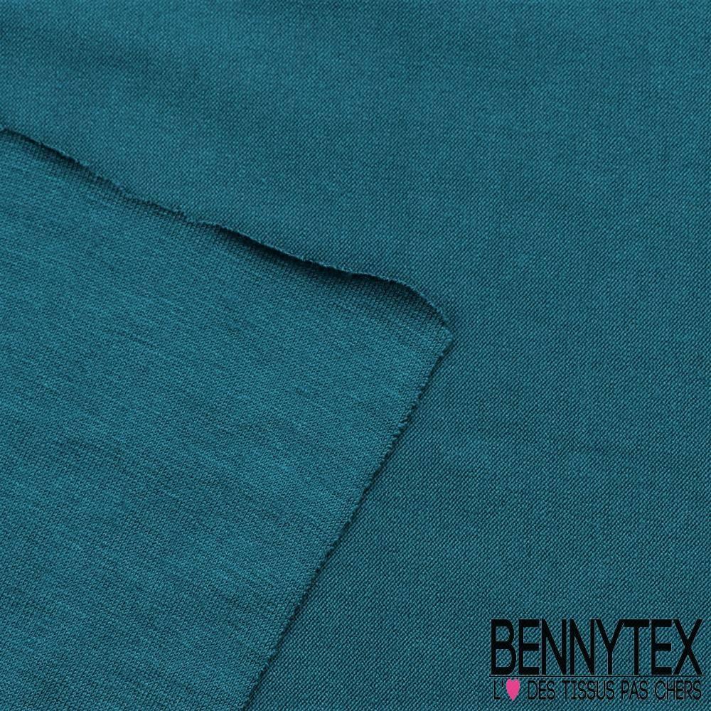 jersey modale viscose uni couleur bleu canard bennytex. Black Bedroom Furniture Sets. Home Design Ideas