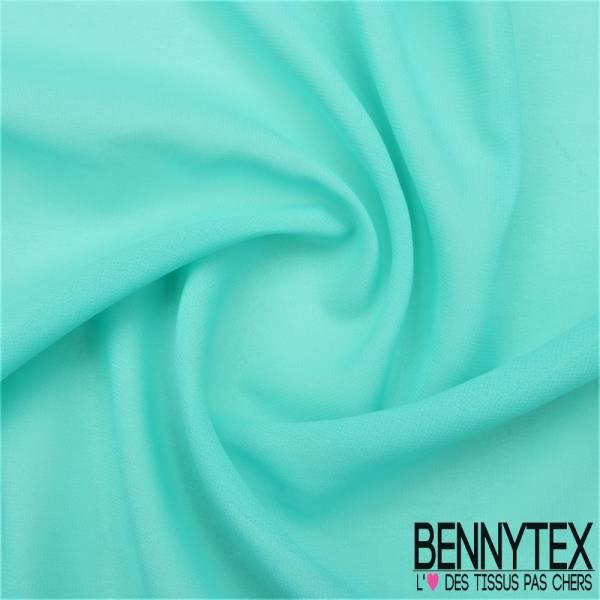Mousseline Polyester Crêpé Gamme KENZA Couleur Vert D'eau