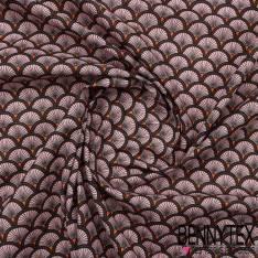 Toile Lorraine 100% Coton Modèle DOUCET Ton Rose