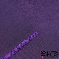 Coupon Taffetas Polyester Couleur Zizolin