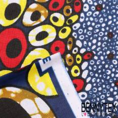 Wax Africain N°070 : Motif Cellules Multicolores